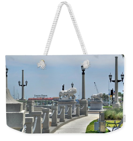 Bridge Of Lions Weekender Tote Bag