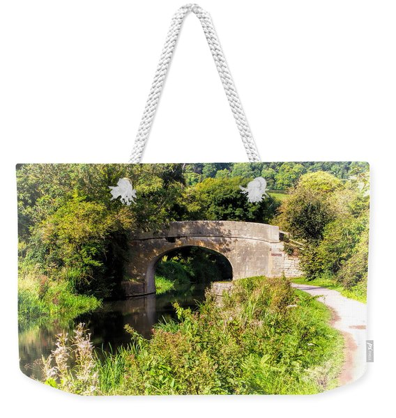 Bridge Over Still Waters Weekender Tote Bag