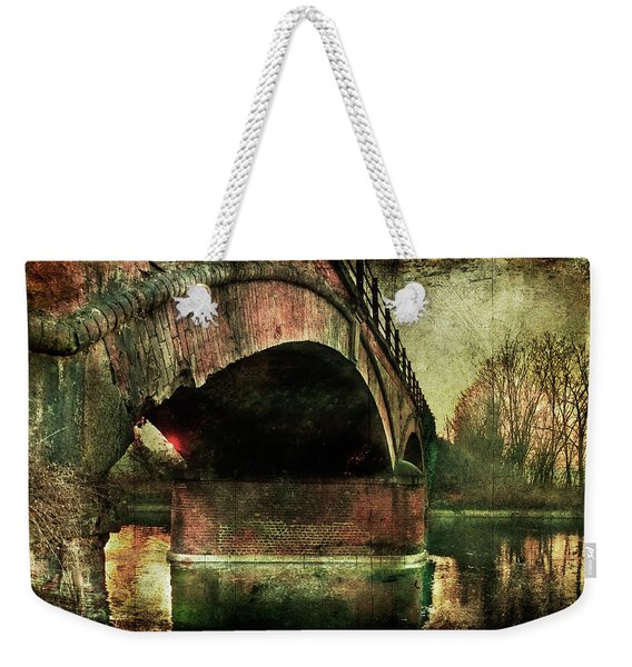 Bridge Over The Canal Weekender Tote Bag