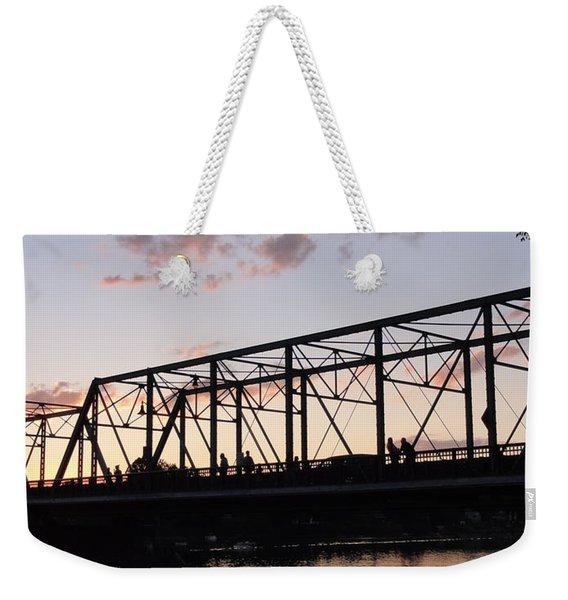 Bridge Scenes August - 1 Weekender Tote Bag
