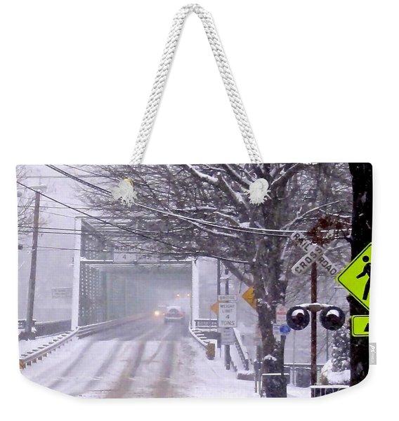 Bridge Street To New Hope Weekender Tote Bag