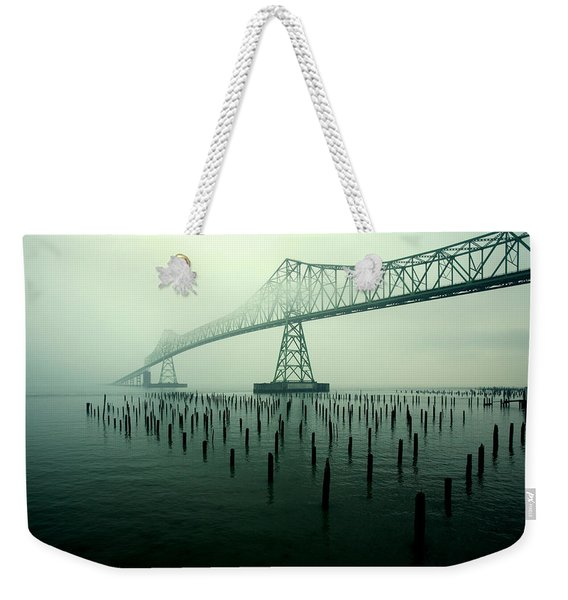 Bridge To Nowhere Weekender Tote Bag
