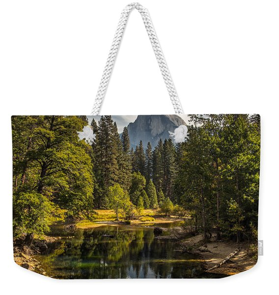 Bridge View Half Dome Weekender Tote Bag