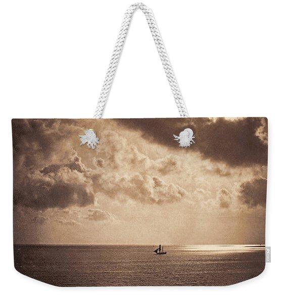 Brig Upon The Water Weekender Tote Bag