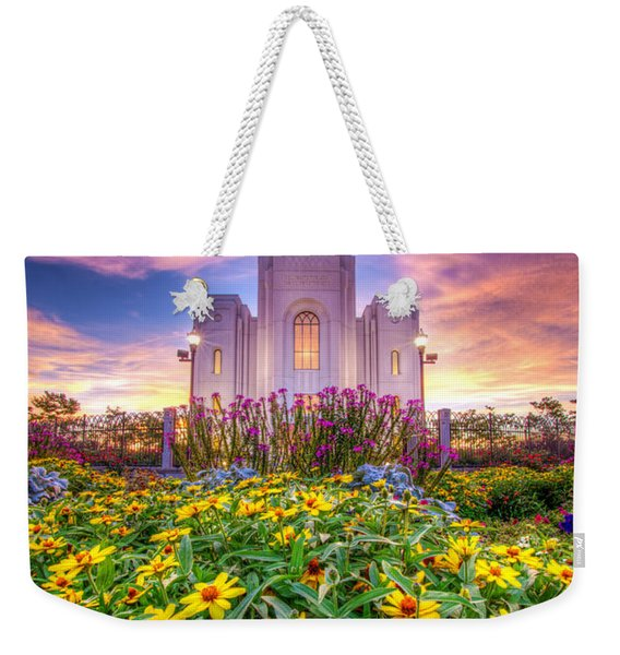 Brigham City Temple Weekender Tote Bag