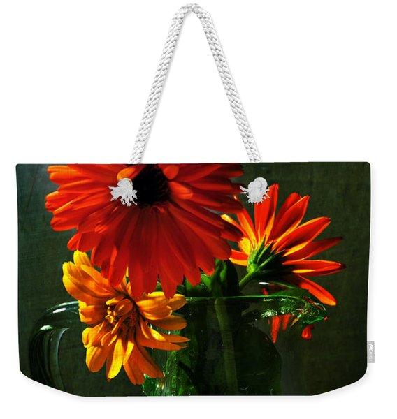 Bright And Dominant Weekender Tote Bag