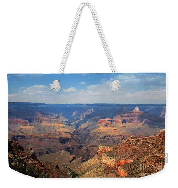 Weekender Tote Bag featuring the photograph Bright Angel Trail Grand Canyon National Park by Jemmy Archer
