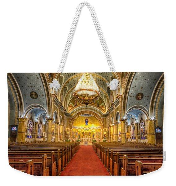 Bright Religion Weekender Tote Bag