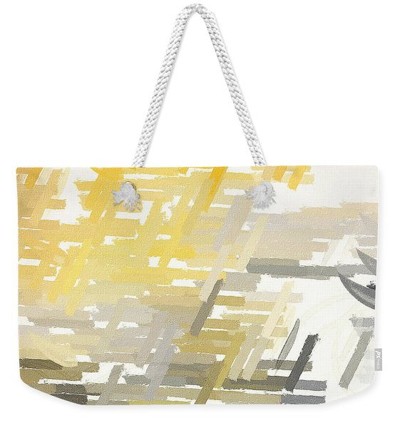 Bright Slashes Weekender Tote Bag