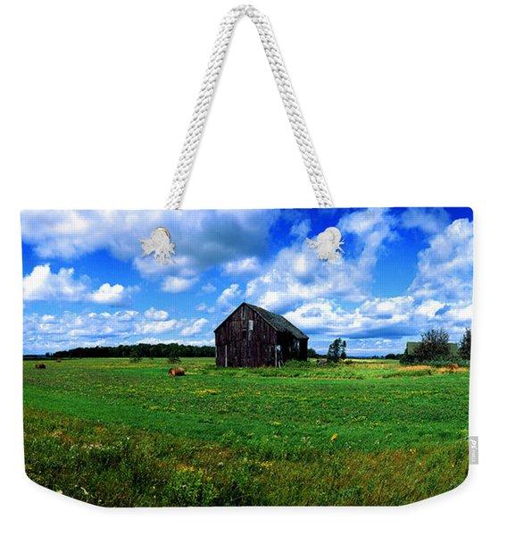 Brimley Farm Near  Sault Ste Marie Michigan  Weekender Tote Bag