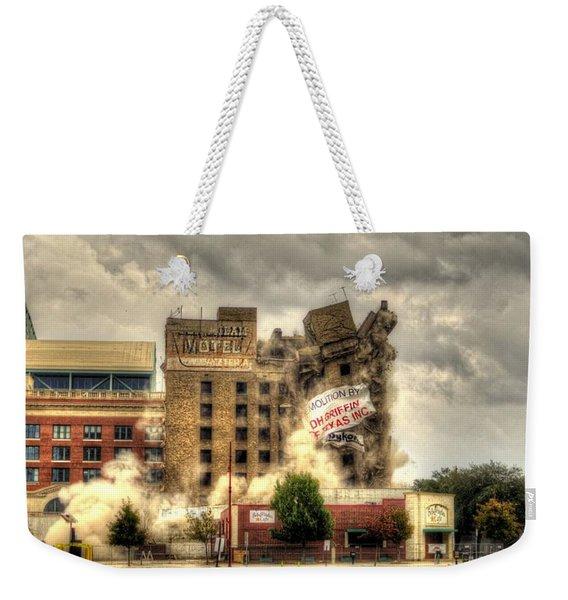 Bringing Down The House Weekender Tote Bag