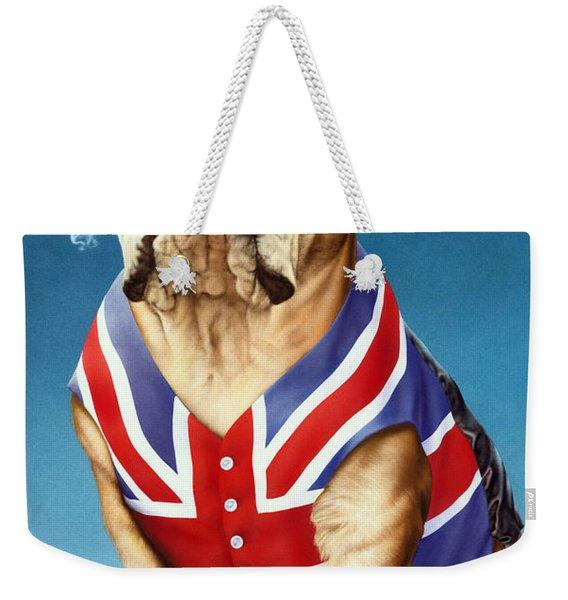 British Bulldog Weekender Tote Bag