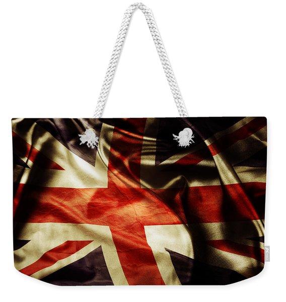 British Flag 1 Weekender Tote Bag
