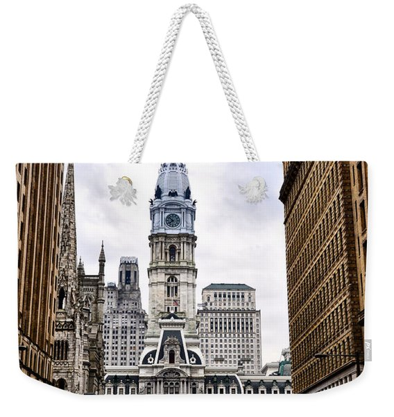 Broad Street Philadelphia Weekender Tote Bag