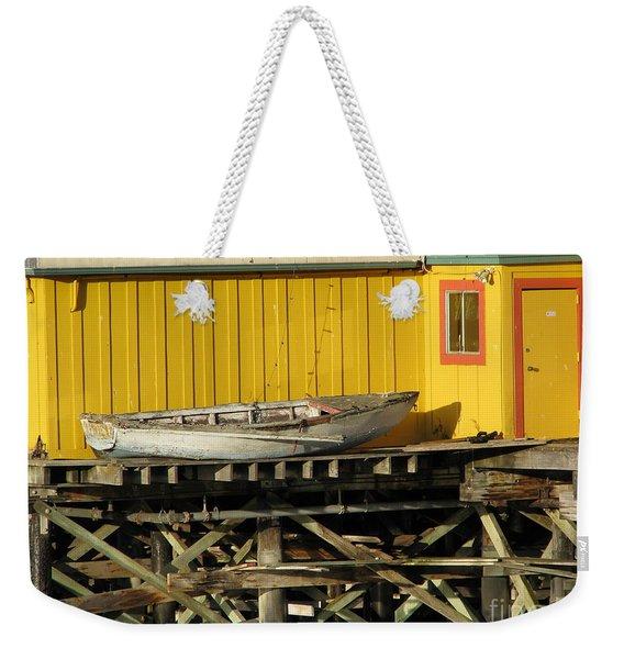 Broken Boat Fisherman's Wharf Weekender Tote Bag