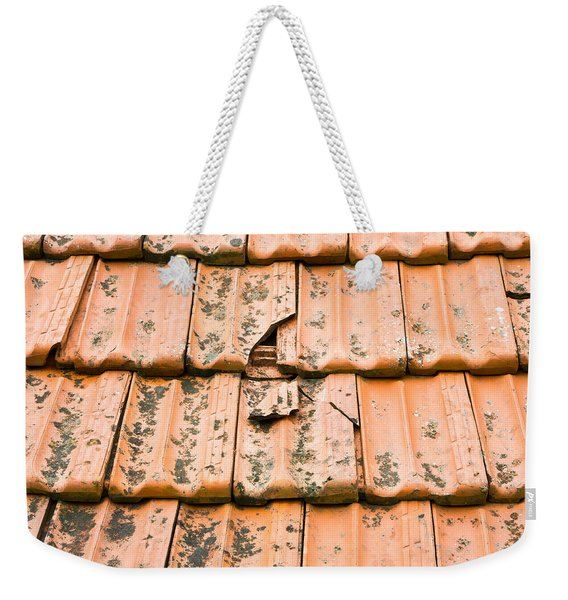 Broken Tiles Weekender Tote Bag