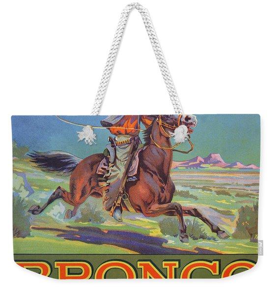 Bronco Oranges Weekender Tote Bag