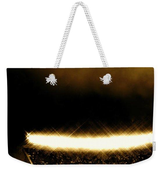 Bronx Storm Yankee Stadium  Weekender Tote Bag