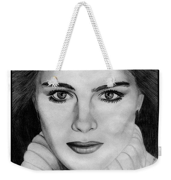 Brooke Shields Weekender Tote Bag