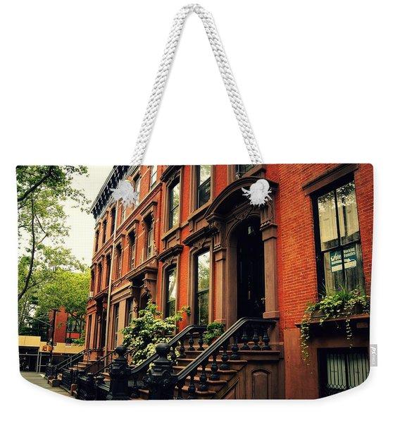 Brooklyn Brownstone - New York City Weekender Tote Bag