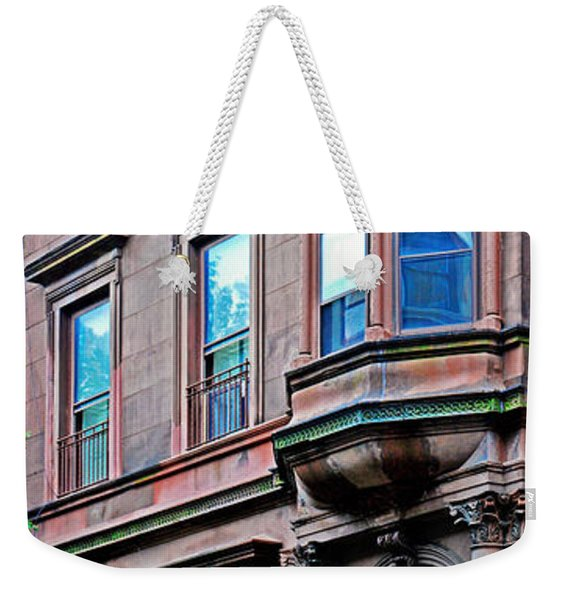 Brooklyn Heights - Nyc - Classic Building And Bike Weekender Tote Bag