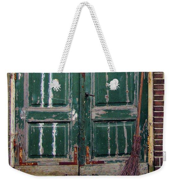 Broom Door Weekender Tote Bag