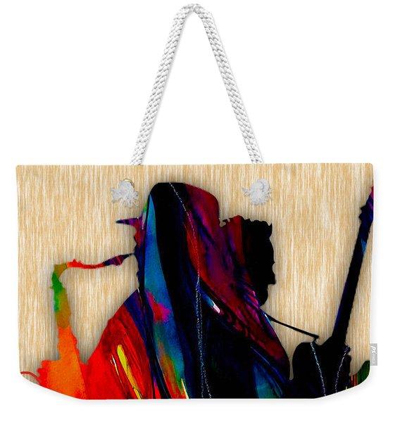 Bruce Springsteen And Clarence Clemons Weekender Tote Bag