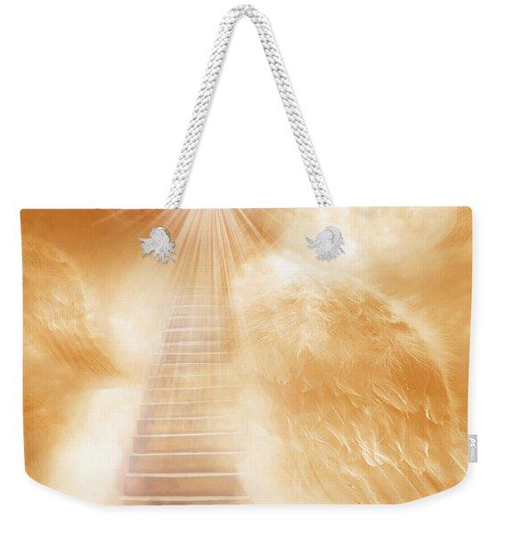 Brush Of Angels Wings Weekender Tote Bag