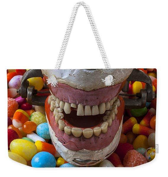 Brush Your Teeth Weekender Tote Bag