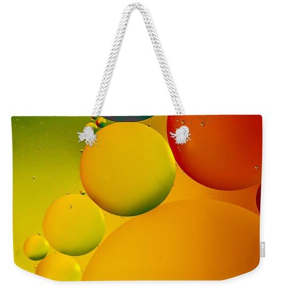 Bubbles Weekender Tote Bag