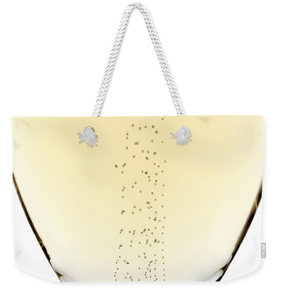 Bubbles In Champagne Weekender Tote Bag