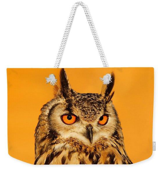 Bubo Bubo Weekender Tote Bag