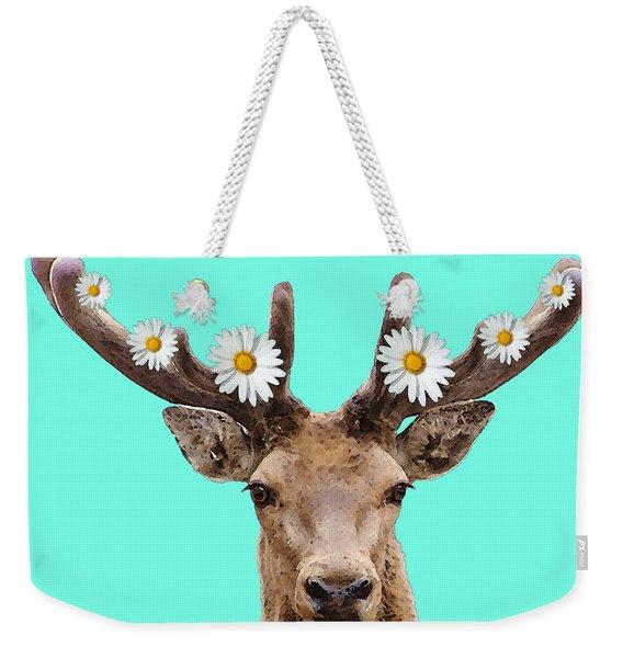 Buck Deer Art - Dont Shoot Weekender Tote Bag