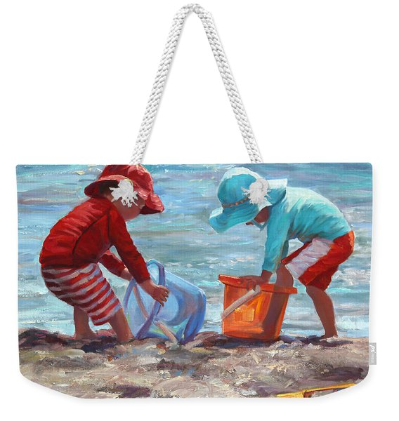 Buckets Of Fun Weekender Tote Bag