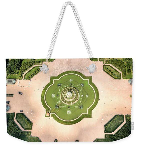 Buckingham Fountain  Aerial Weekender Tote Bag