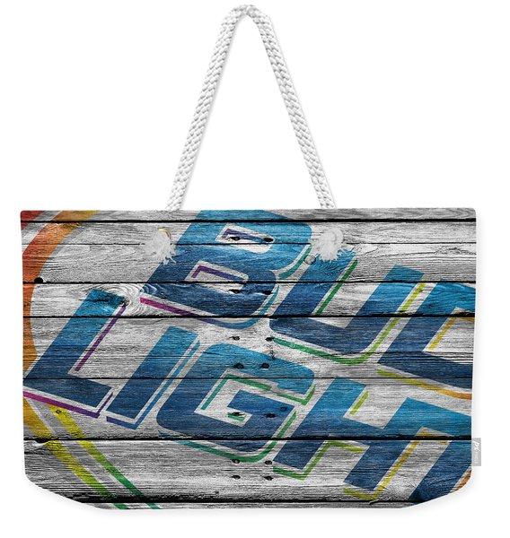Bud Light Weekender Tote Bag
