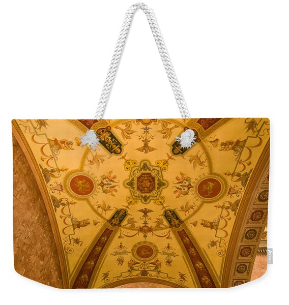 Budapest Opera House Foyer Ceiling Weekender Tote Bag