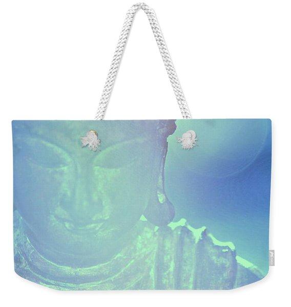 Buddah Bokeh Weekender Tote Bag