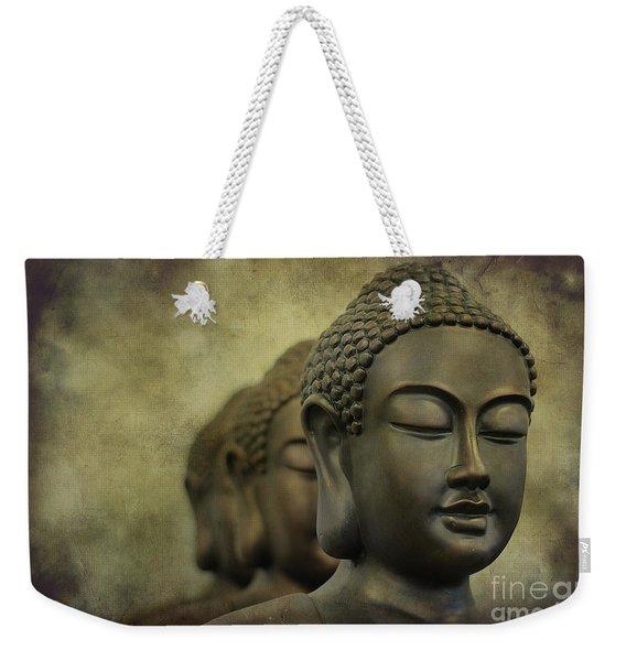 Buddha Bronze Weekender Tote Bag