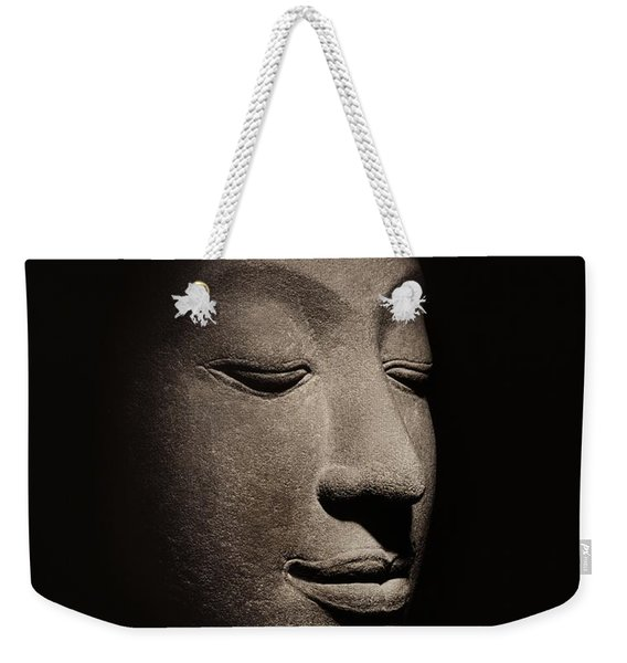 Buddha Head From The Early Ayutthaya Period Weekender Tote Bag