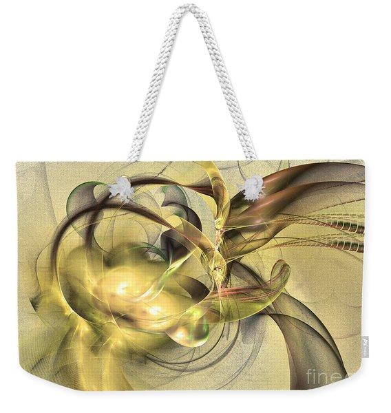 Budding Fruit - Abstract Art Weekender Tote Bag