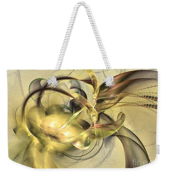 Budding Fruit - Abstract Art Weekender Tote Bag