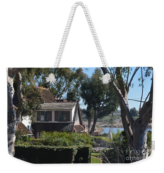 Weekender Tote Bag featuring the photograph Buena Vista Lagoon by Laurie Lundquist