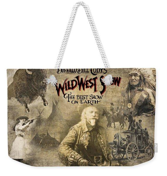 Buffalo Bill Wild West Show Weekender Tote Bag