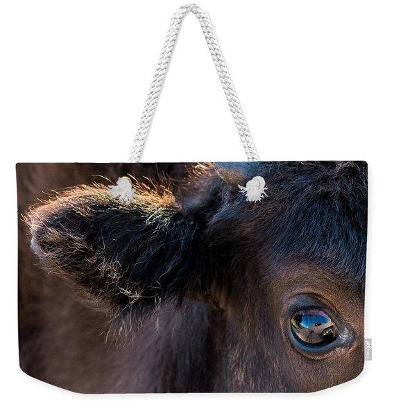 Buffalo Eye Weekender Tote Bag