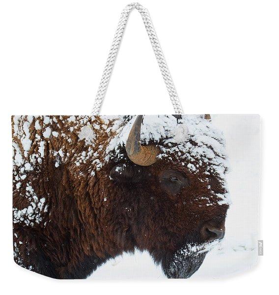Buffalo Nickel Weekender Tote Bag