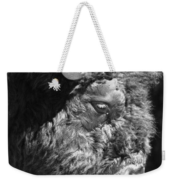 Buffalo Portrait Weekender Tote Bag