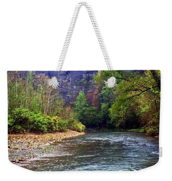 Buffalo River Downstream Weekender Tote Bag