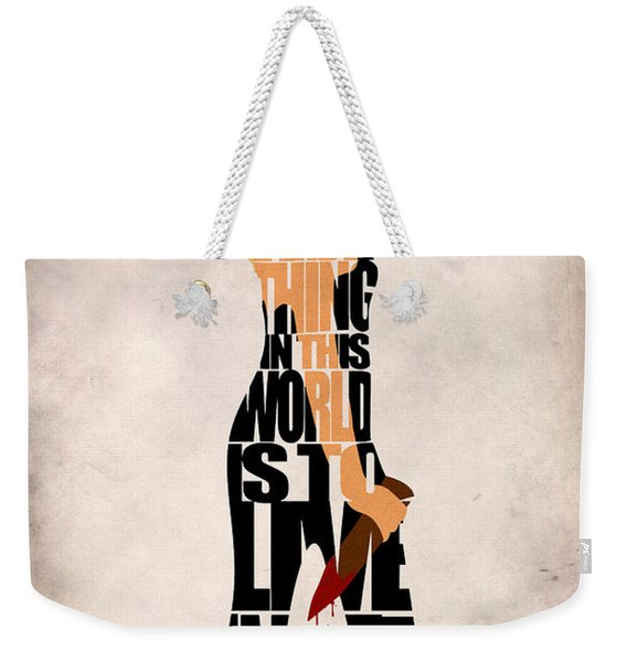 Buffy The Vampire Slayer Weekender Tote Bag