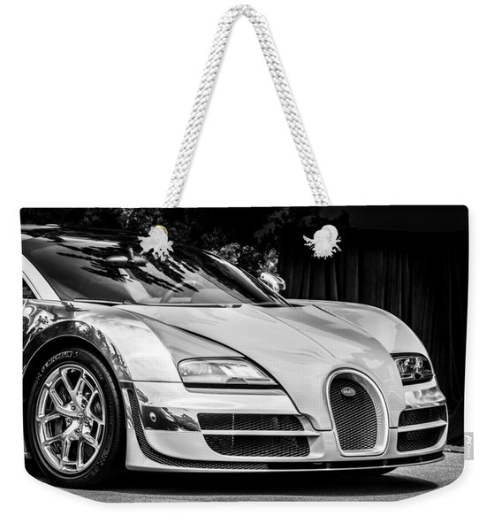 Bugatti Legend - Veyron Special Edition -0844bw Weekender Tote Bag